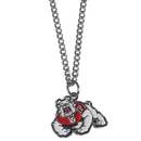 Siskiyou Buckle CN100SC Fresno St. Bulldogs Chain Necklace with Small Charm