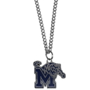 Siskiyou Buckle CN103SC Memphis Tigers Chain Necklace with Small Charm