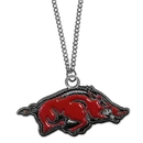 Siskiyou Buckle CN12 Arkansas Razorbacks Chain Necklace