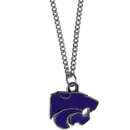 Siskiyou Buckle CN15SC Kansas St. Wildcats Chain Necklace with Small Charm