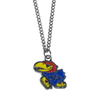 Siskiyou Buckle CN21SC Kansas Jayhawks Chain Necklace with Small Charm