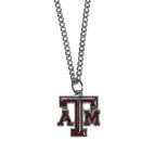 Siskiyou Buckle CN26SC Texas A & M Aggies Chain Necklace with Small Charm
