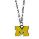 Siskiyou Buckle CN36SC Michigan Wolverines Chain Necklace with Small Charm