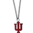 Siskiyou Buckle CN39SC Indiana Hoosiers Chain Necklace with Small Charm