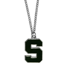 Siskiyou Buckle CN41 Michigan St. Spartans Chain Necklace