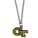 Siskiyou Buckle CN44SC Georgia Tech Yellow Jackets Chain Necklace with Small Charm