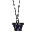 Siskiyou Buckle CN49SC Washington Huskies Chain Necklace with Small Charm