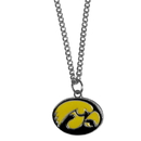 Siskiyou Buckle CN52SC Iowa Hawkeyes Chain Necklace with Small Charm