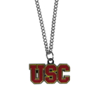 Siskiyou Buckle CN53SC USC Trojans Chain Necklace with Small Charm