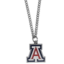 Siskiyou Buckle CN54SC Arizona Wildcats Chain Necklace with Small Charm