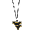 Siskiyou Buckle CN60SC W. Virginia Mountaineers Chain Necklace with Small Charm