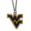 Siskiyou Buckle CN60 W. Virginia Mountaineers Chain Necklace