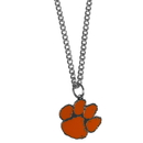 Siskiyou Buckle CN69SC Clemson Tigers Chain Necklace with Small Charm