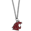 Siskiyou Buckle CN71SC Washington St. Cougars Chain Necklace with Small Charm