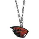 Siskiyou Buckle CN72SC Oregon St. Beavers Chain Necklace with Small Charm
