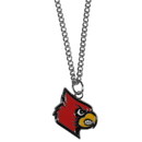 Siskiyou Buckle CN88SC Louisville Cardinals Chain Necklace with Small Charm
