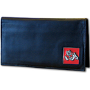 Siskiyou Buckle CNC100BX Fresno St. Bulldogs Leather Checkbook Cover