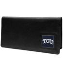 Siskiyou Buckle CNC112BX TCU Horned Frogs Leather Checkbook Cover