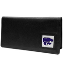 Siskiyou Buckle CNC15BX Kansas St. Wildcats Leather Checkbook Cover