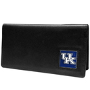 Siskiyou Buckle CNC35BX Kentucky Wildcats Leather Checkbook Cover