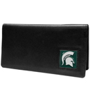 Siskiyou Buckle CNC41BX Michigan St. Spartans Leather Checkbook Cover