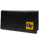 Siskiyou Buckle CNC44BX Georgia Tech Yellow Jackets Leather Checkbook Cover
