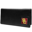 Siskiyou Buckle CNC53BX USC Trojans Leather Checkbook Cover