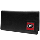 Siskiyou Buckle CNC5BX Georgia Bulldogs Leather Checkbook Cover