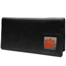 Siskiyou Buckle CNC69BX Clemson Tigers Leather Checkbook Cover