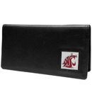 Siskiyou Buckle CNC71BX Washington St. Cougars Leather Checkbook Cover