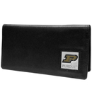 Siskiyou Buckle CNC84BX Purdue Boilermakers Leather Checkbook Cover