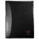 Siskiyou Buckle Texas Tech Raiders Leather and Canvas Padfolio, CPAD30