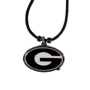 Siskiyou Buckle Georgia Bulldogs Cord Necklace, CPCC5