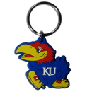 Siskiyou Buckle CPK21 Kansas Jayhawks Flex Key Chain
