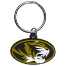 Siskiyou Buckle CPK67 Missouri Tigers Flex Key Chain