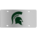 Siskiyou Buckle CPLC41 Michigan St. Spartans Steel License Plate