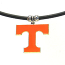 Siskiyou Buckle CPR25 Tennessee Volunteers Rubber Cord Necklace