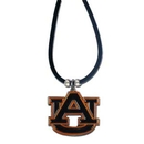 Siskiyou Buckle CPR42 Auburn Tigers Rubber Cord Necklace