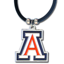 Siskiyou Buckle CPR54 Arizona Wildcats Rubber Cord Necklace