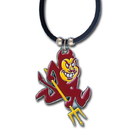 Siskiyou Buckle CPR68 Arizona St. Sun Devils Rubber Cord Necklace