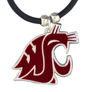 Siskiyou Buckle CPR71 Washington St. Cougars Rubber Cord Necklace