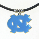 Siskiyou Buckle CPR9 N. Carolina Tar Heels Rubber Cord Necklace