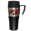 Siskiyou Buckle CPTM13 Alabama Crimson Tide Steel Travel Mug w/Handle