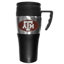 Siskiyou Buckle CPTM26 Texas A & M Aggies Steel Travel Mug w/Handle