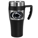 Siskiyou Buckle CPTM27 Penn St. Nittany Lions Steel Travel Mug w/Handle