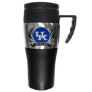 Siskiyou Buckle CPTM35F Kentucky Wildcats Steel Travel Mug w/Handle
