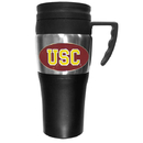 Siskiyou Buckle CPTM53 USC Trojans Steel Travel Mug w/Handle