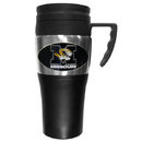 Siskiyou Buckle CPTM67 Missouri Tigers Steel Travel Mug w/Handle