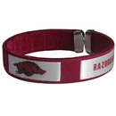 Siskiyou Buckle CRB12 Arkansas Razorbacks Fan Bracelet