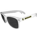 Siskiyou Buckle CS1B115W Baylor Bears Beachfarer Bottle Opener Sunglasses, White